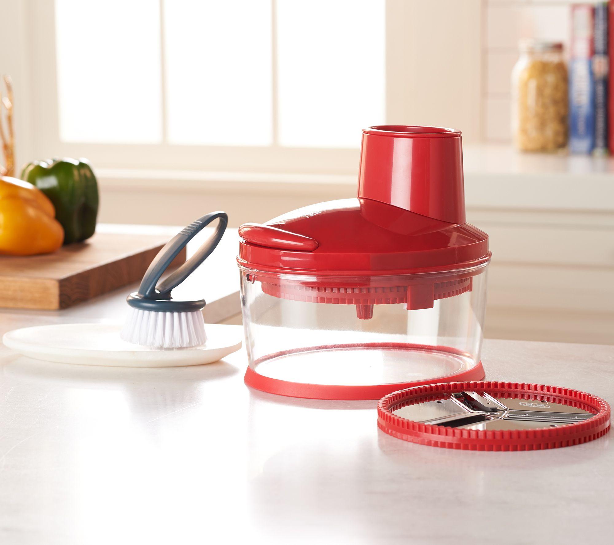 Kuhn-Rikon-4-Cup-Easy-Cut-Food-Slicer-amp-Grater-Model-K46999 thumbnail 8
