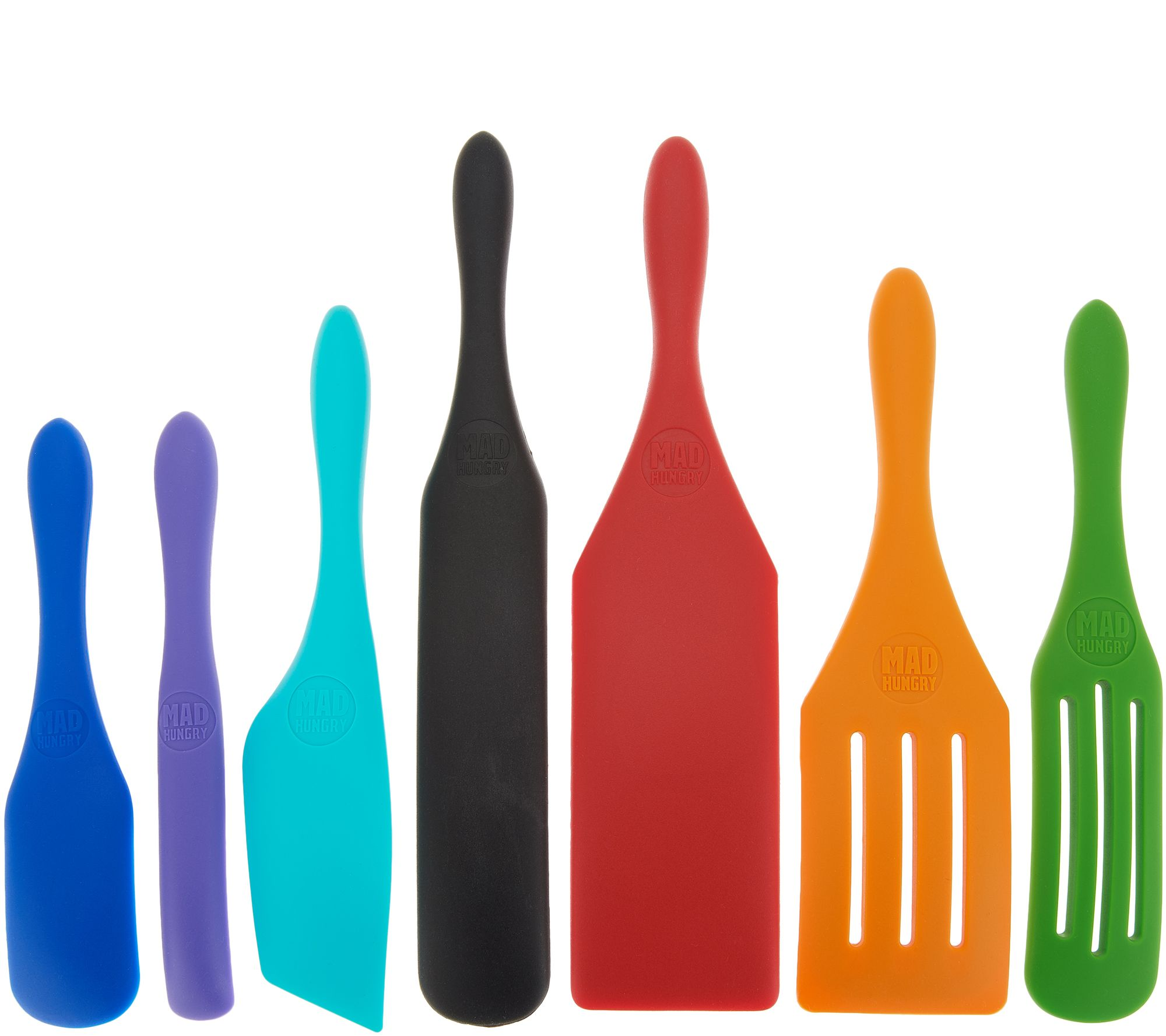 Mad-Hungry-7-Piece-Multi-Use-Silicone-Spurtle-Set-Spatula-and-Spoon-Set