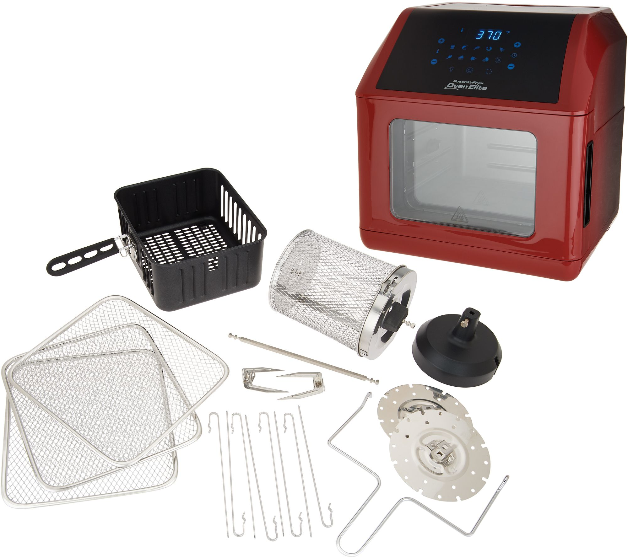 Power Air Fryer Oven Elite 6 Qt With Accessories Ebay