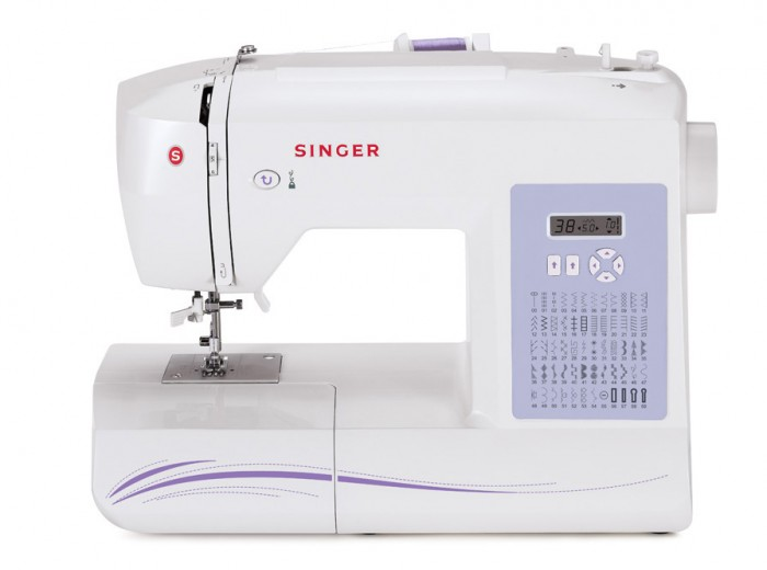 Singer Sewing Machine 40 40Stitch Computerized with Auto Needle Fascinating Singer Sewing Machin