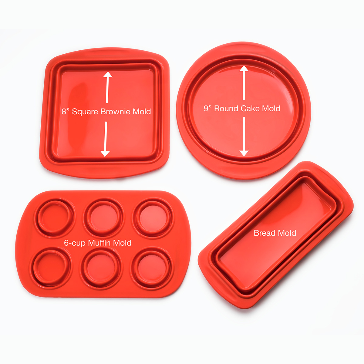Cook-039-s-Companion-4-Piece-Collapsible-Silicone-Bakeware-Set thumbnail 11