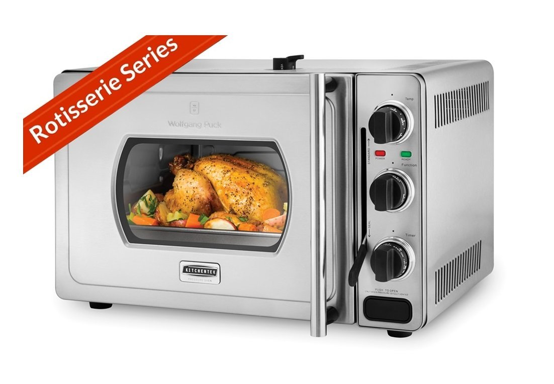 wolfgang puck pressure oven wolfgang puck pressure oven rotisserie 29 liter stainless 31353
