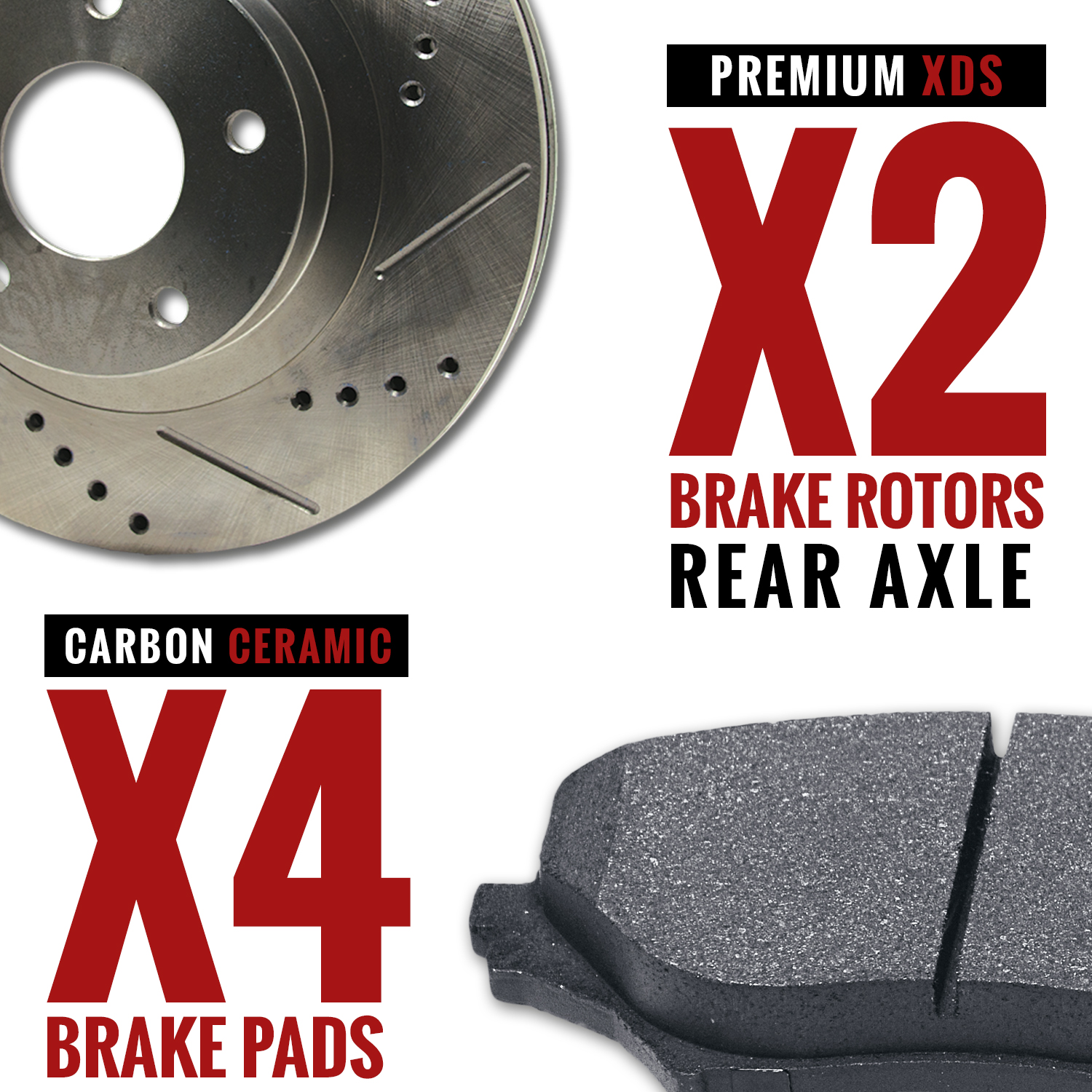 2010-2011-Mercedes-Benz-GLK350-4Matic-Slotted-Drilled-Rotors-Ceramic-Pads-R thumbnail 3