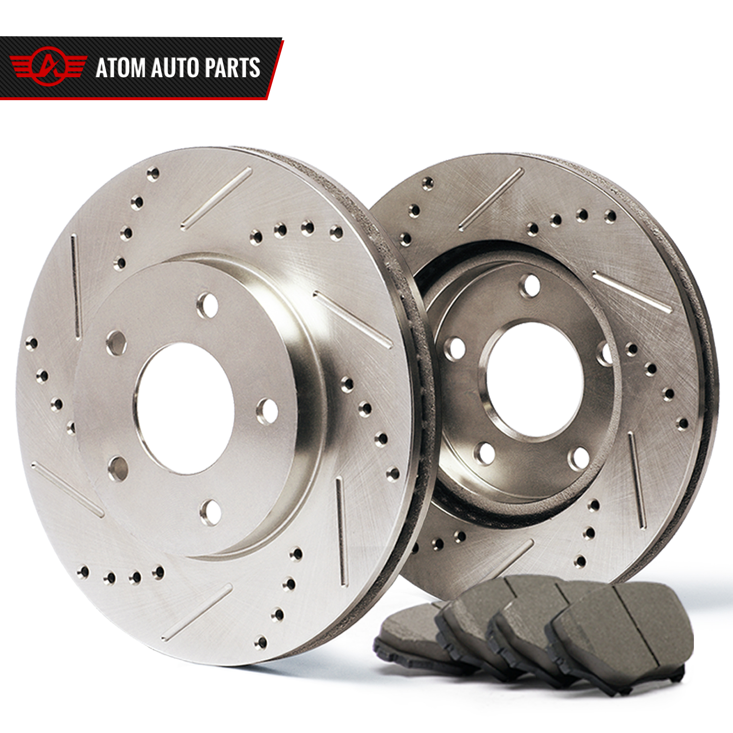 2010-2011-Mercedes-Benz-GLK350-4Matic-Slotted-Drilled-Rotors-Ceramic-Pads-R