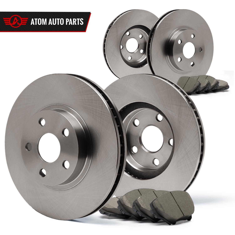 Front-Rear-Rotors-w-Ceramic-Pads-OE-Brakes-06-11-SLK350-05-07-C230