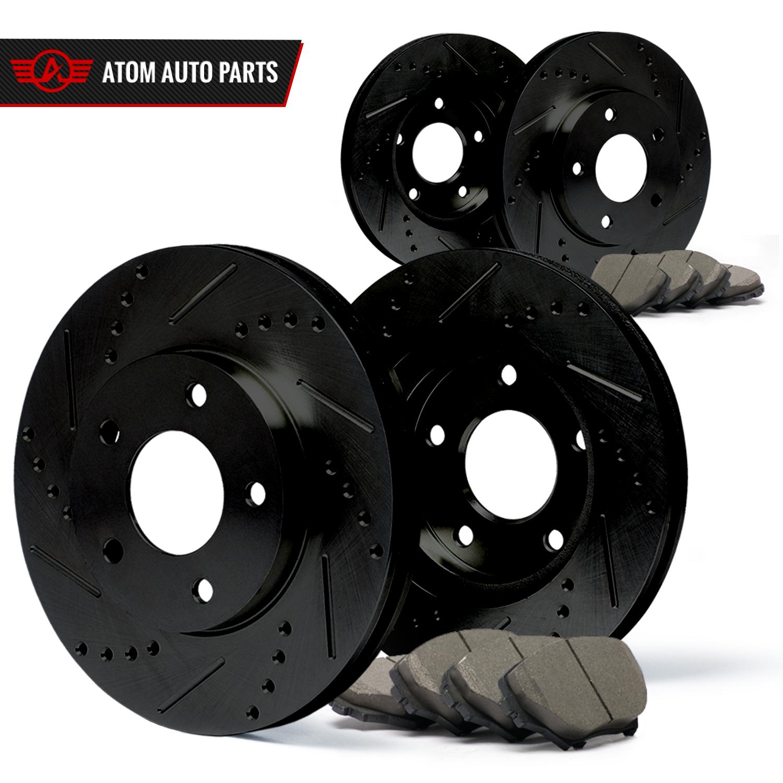 Front-Rear-Rotors-w-Ceramic-Pads-Elite-Brakes-2005-2013-Mazda-3