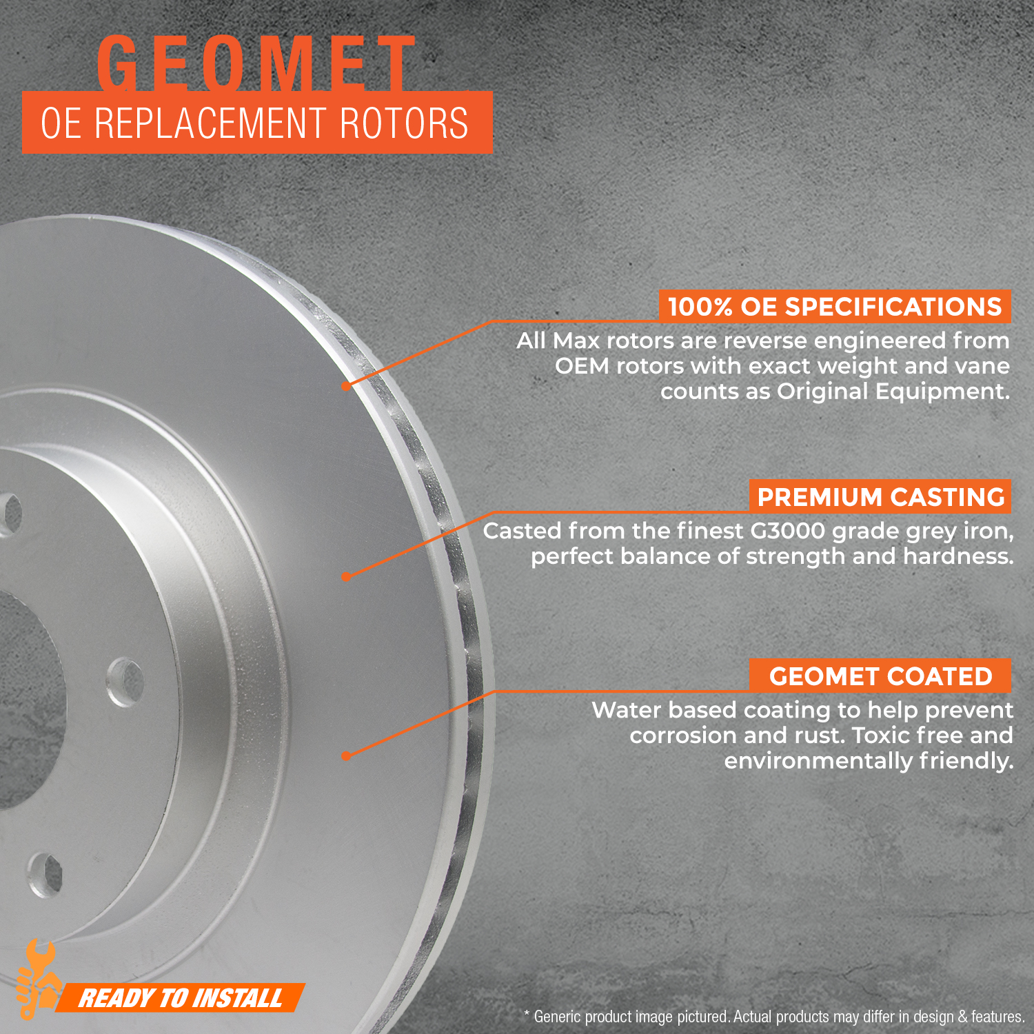 Rear-Rotors-Geomet-OE-Brake thumbnail 3