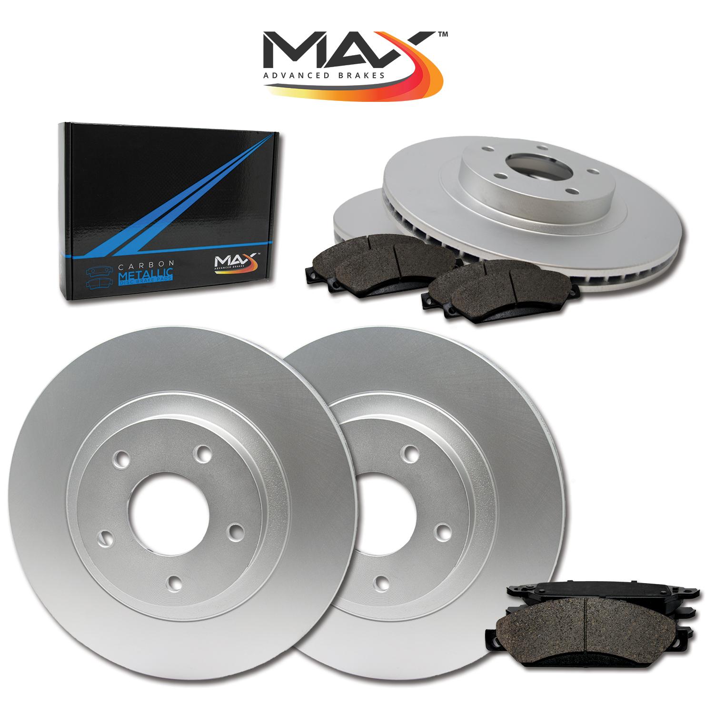 2010 2011 2012 2013 Mazda 3 2.5L OE Replacement Rotors w//Metallic Pads R