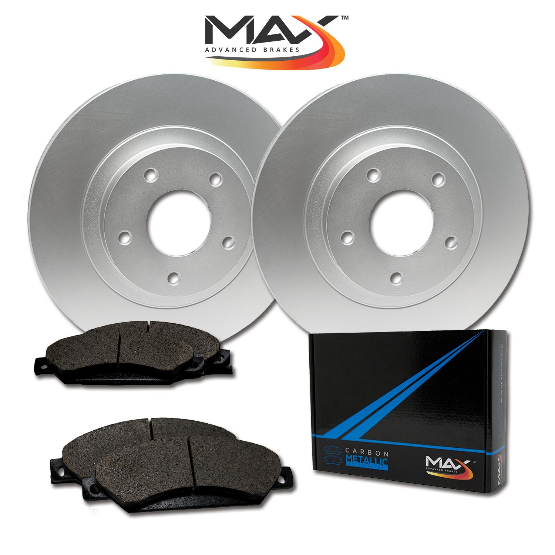 Rear-Rotors-w-Metallic-Pads-Geomet-OE-Brakes-2003-2004-2005-Vibe-Celica-Matrix