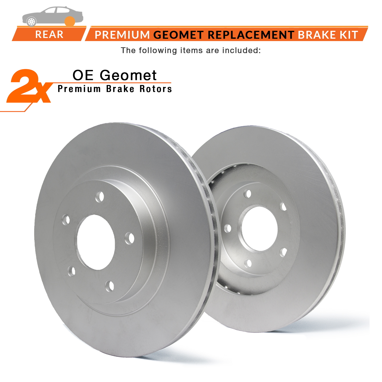 Rear-Rotors-Geomet-OE-Brake thumbnail 2