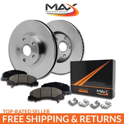 REAR-KIT-OE-Replacement-Brake-Rotors-with-Ceramic-Pads-amp-Hardware-Kit