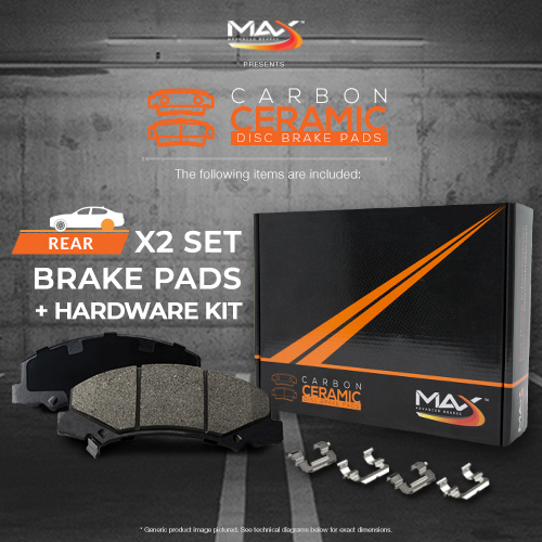 REAR-Max-Performance-Ceramic-Brake-Pads-amp-Hardware-Kit-KH121052