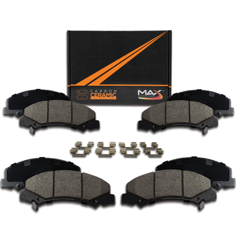 2009 2010 2011 Mercury Grand Marquis Max Performance Ceramic Brake Pads F+R
