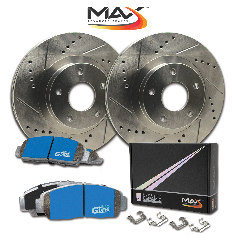 R-Rotors-w-M1-Ceramic-Pads-Premium-Brakes-2007-08-09-10-11-2012-Mazda-CX7