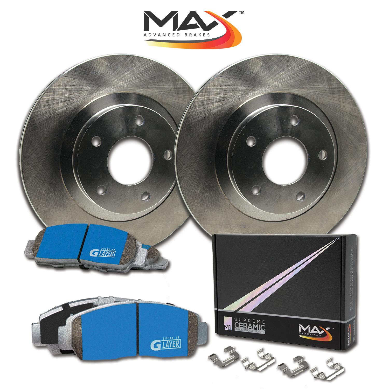R-Rotors-w-M1-Ceramic-Pads-OE-Brakes-2000-07-Focus-2014-16-Fiesta