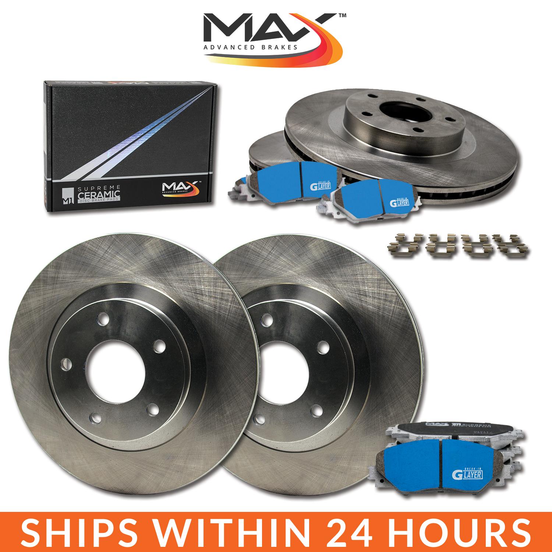 2011 2012 2013 Mazda 3 2.0L OE Replacement Rotors M1 Ceramic Pads F+R