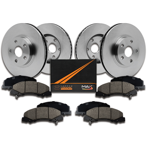 2012 Volvo Xc70: 2012 2013 Volvo XC70 (See Desc) OE Replacement Rotors W