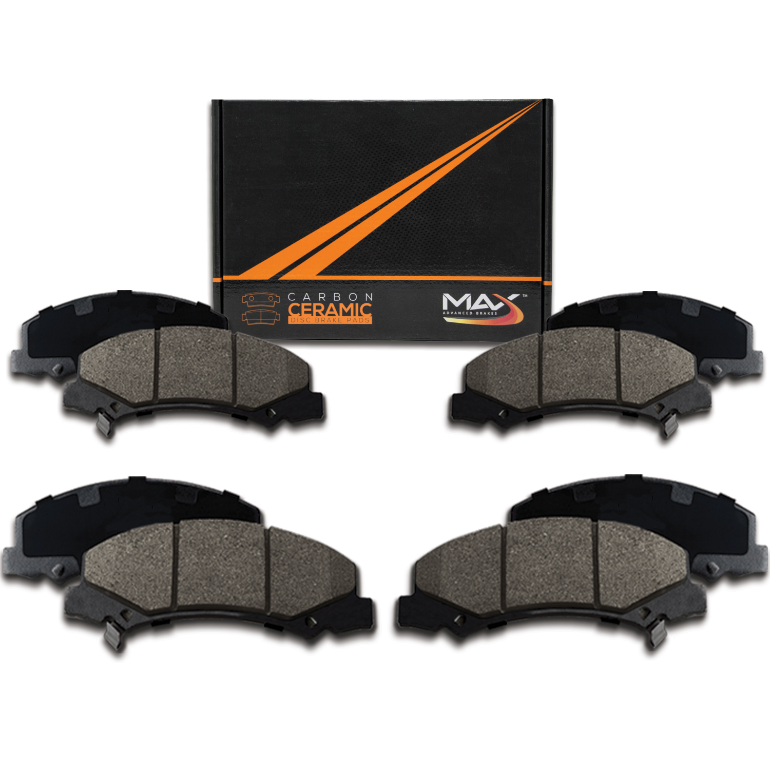 [Front + Rear] Max Performance Ceramic Brake Pads (2003 04