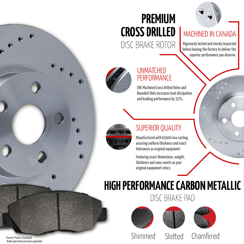 2003-Mitsubishi-Montero-See-Desc-Cross-Drilled-Rotors-Metallic-Pads-F-R