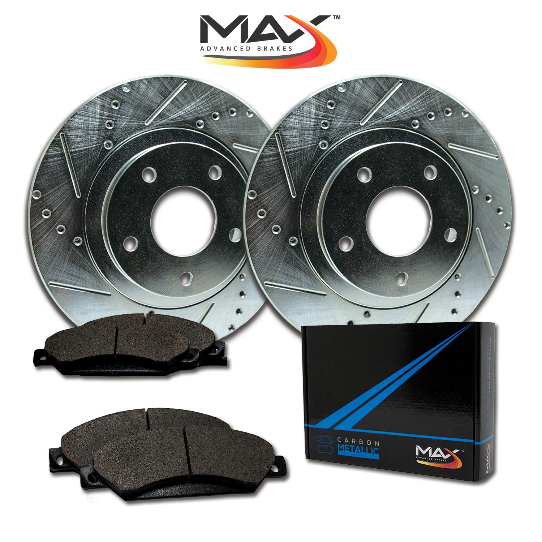 2004 2005 2006 Suzuki Forenza Max Performance Metallic Brake Pads F+R