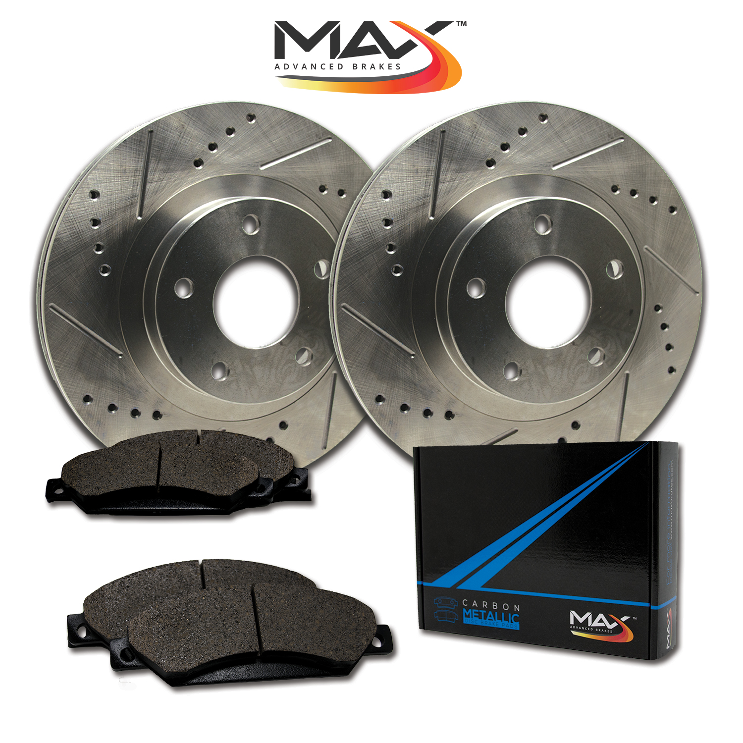 Rear-Rotors-w-Metallic-Pad-Premium-Brakes-2004-2008-TSX-03-07-Accord