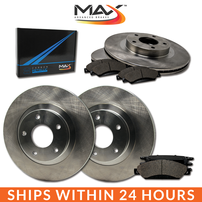 2014 2015 FitS Kia Sportage AWD OE Replacement Rotors w/Metallic Pads F+R
