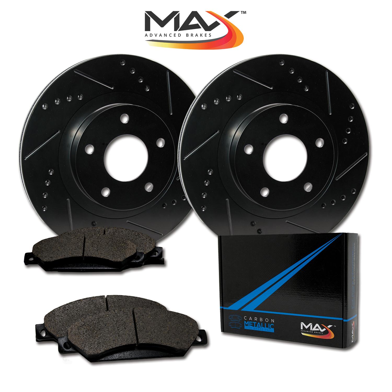 Front-Rotors-w-Metallic-Pad-Elite-Brakes-2005-2006-2007-Cobalt-ION-07-G5