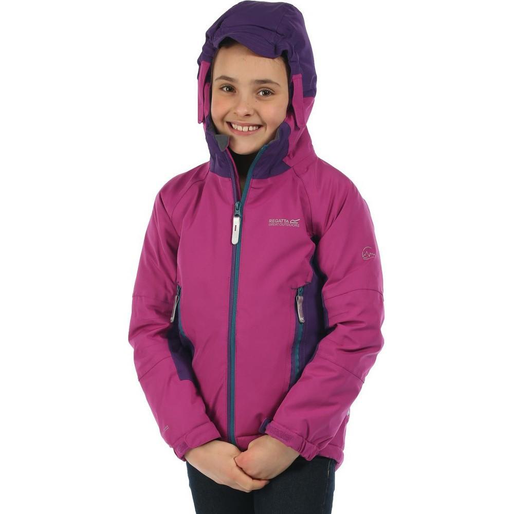Regatta-Aptitude-Kids-Waterproof-Insulated-Stretch-Isotex-10000-Jacket thumbnail 5