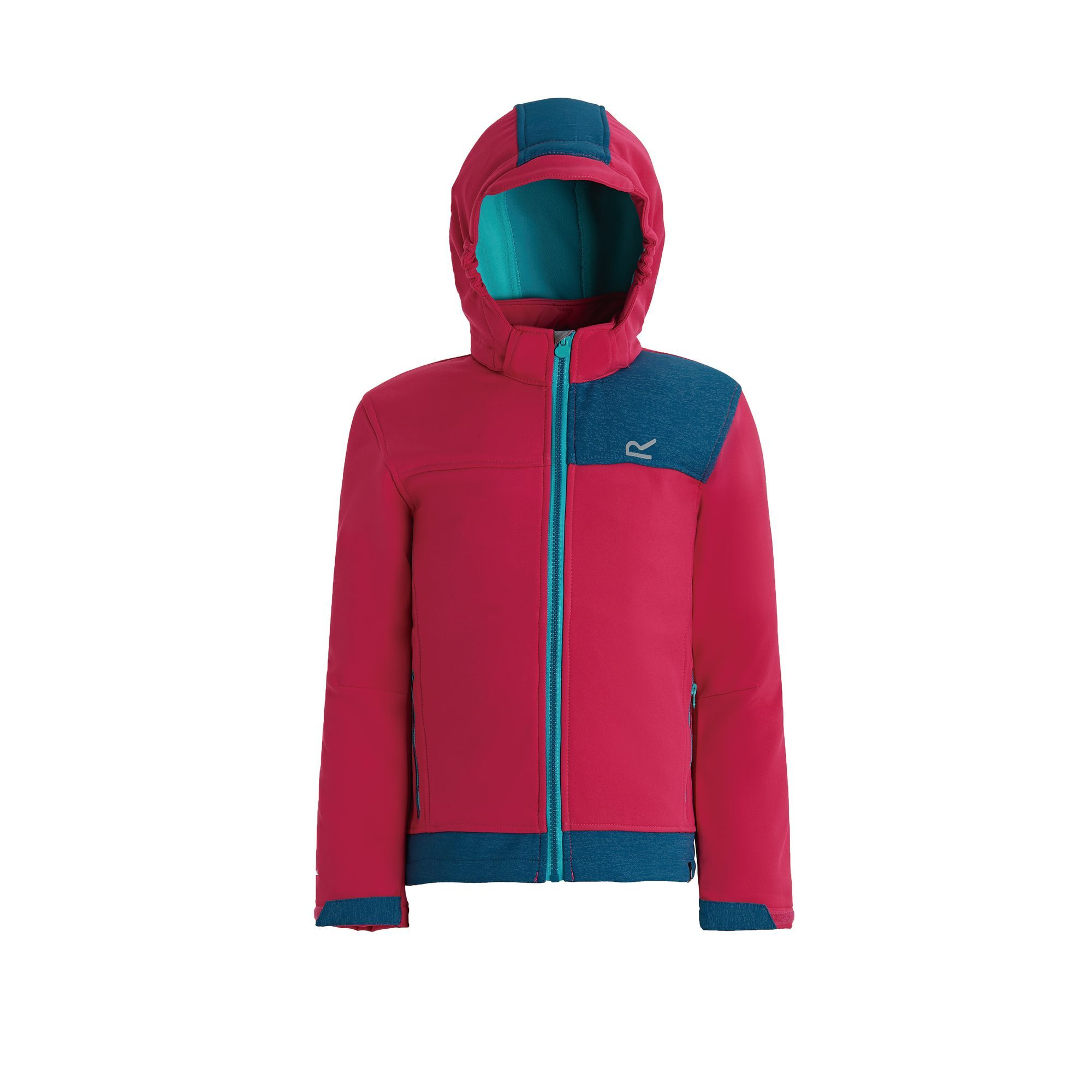 Dare2b Boys Girls Kids Exceed Core Stretch Midlayer Softshell Jacket RRP £35