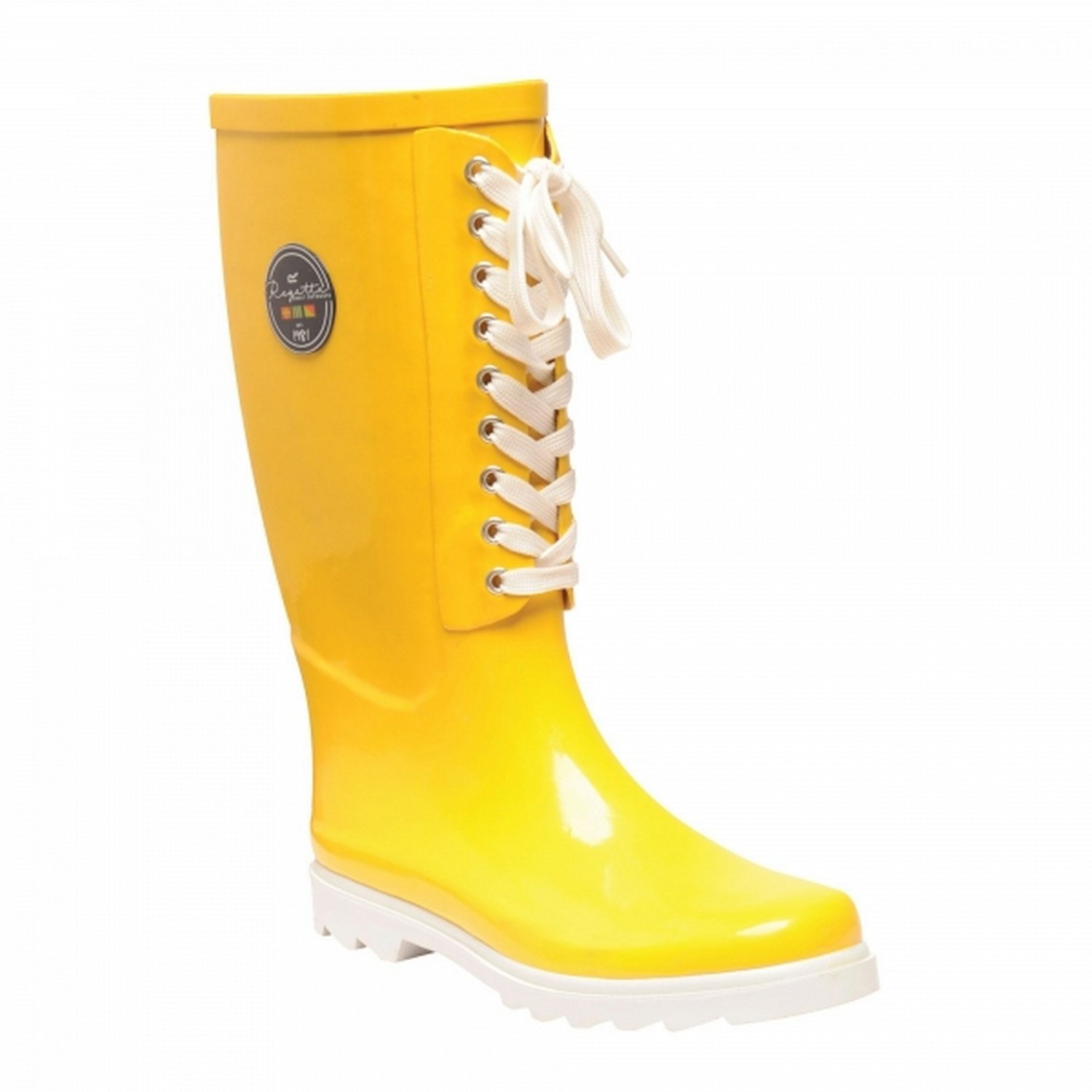 lace up welly boots