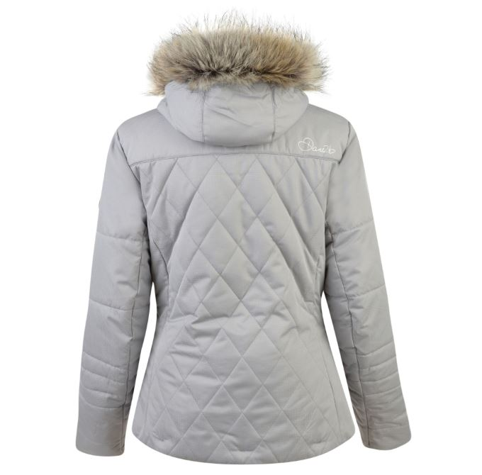 Dare2b-Ornate-Women-039-s-Waterproof-Breathable-Quilted-Ski-Jacket-Coat thumbnail 12