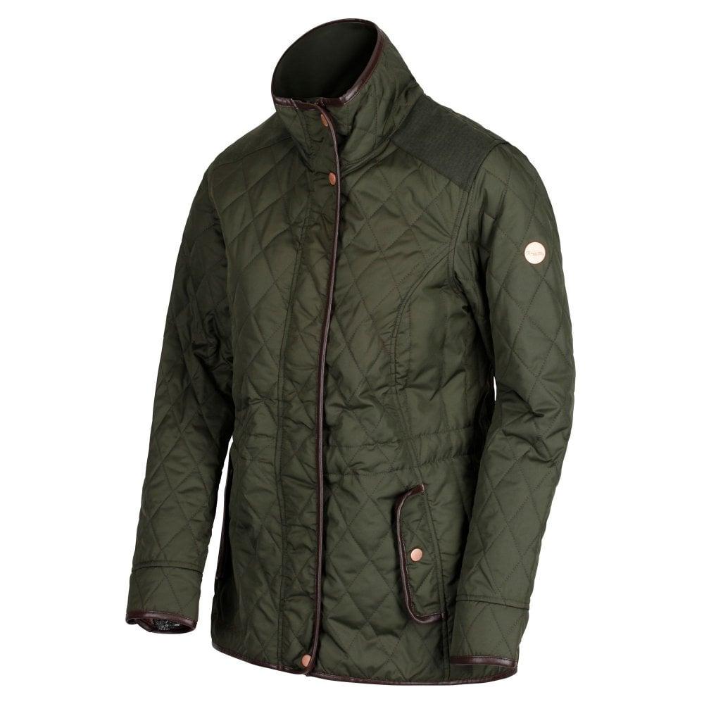 Regatta-Coretta-Women-039-s-Quilted-Water-Repellent-Insulated-Jacket thumbnail 3