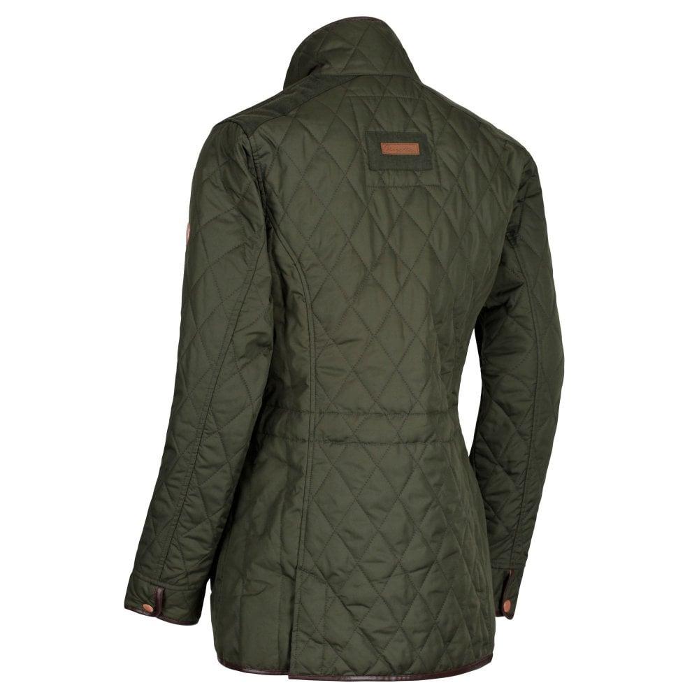 Regatta-Coretta-Women-039-s-Quilted-Water-Repellent-Insulated-Jacket thumbnail 4