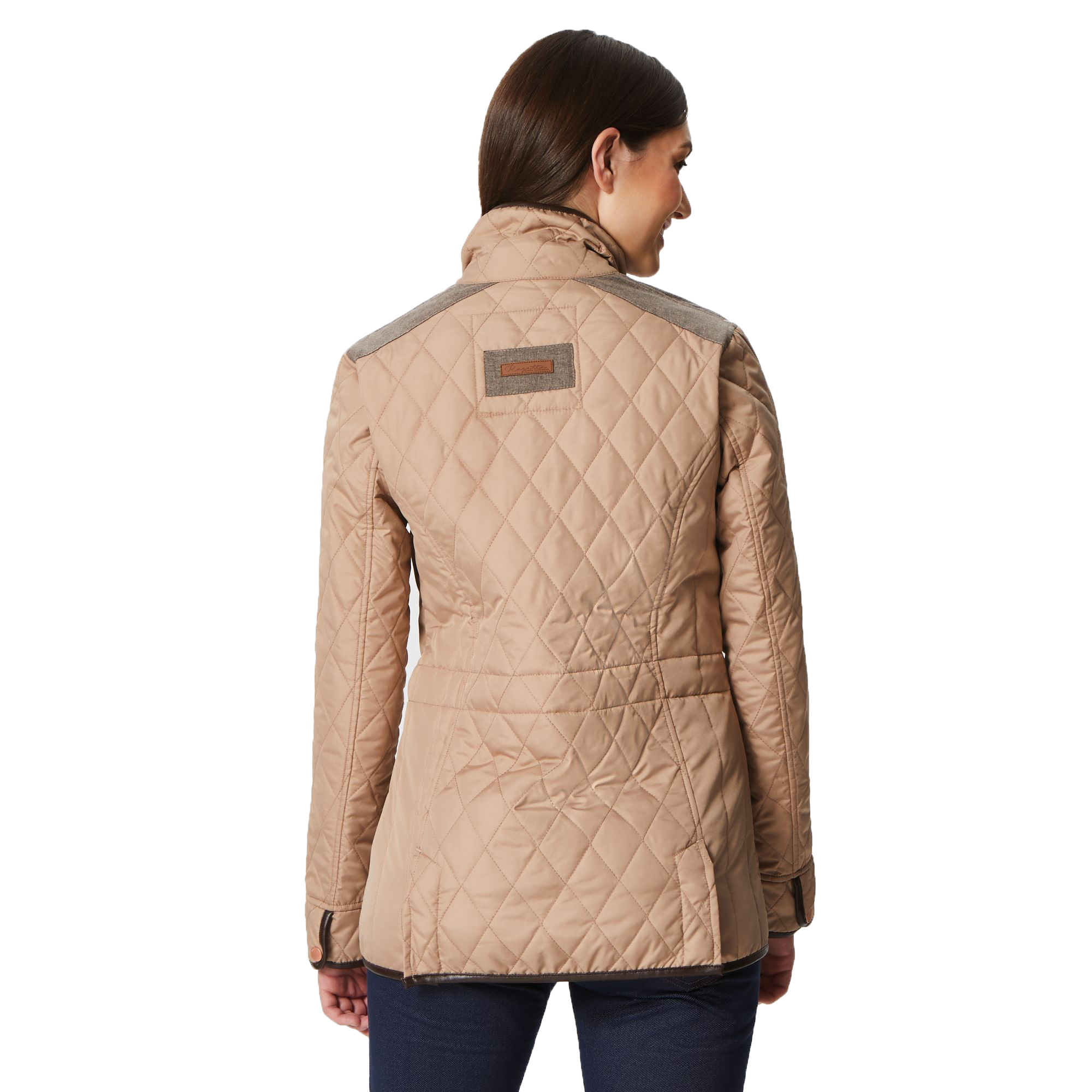 Regatta-Coretta-Women-039-s-Quilted-Water-Repellent-Insulated-Jacket thumbnail 6