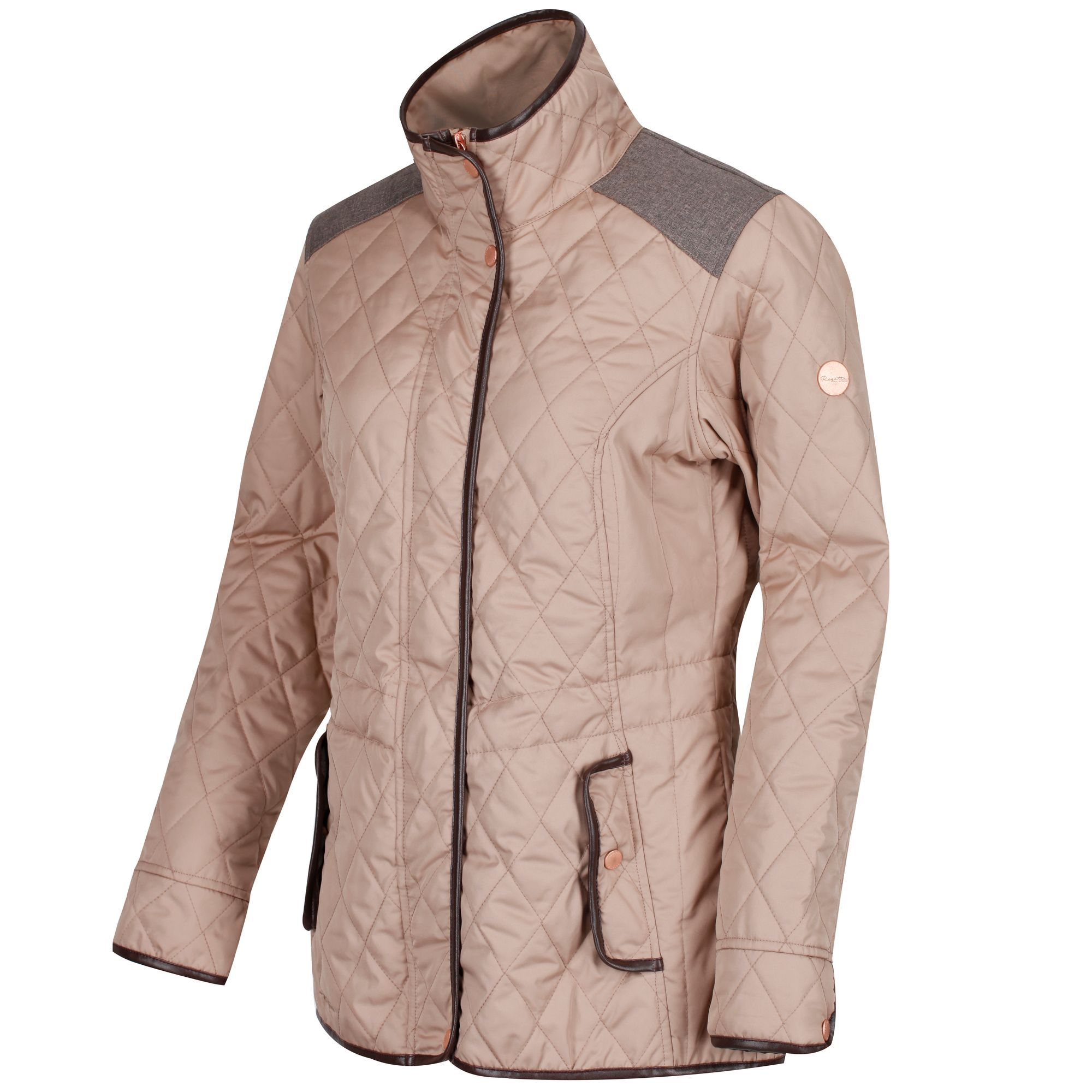 Regatta-Coretta-Women-039-s-Quilted-Water-Repellent-Insulated-Jacket thumbnail 7