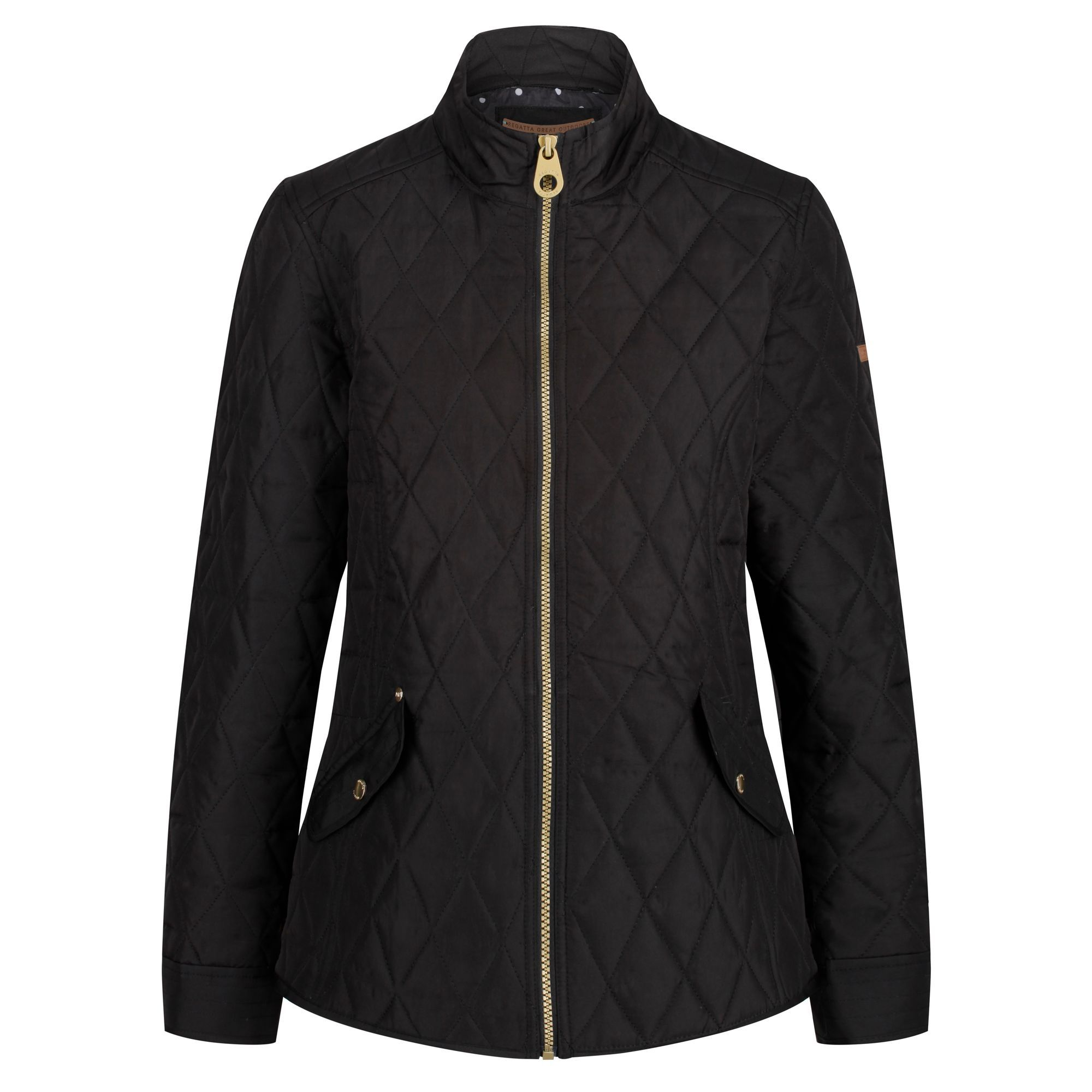 Regatta-Women-039-s-Cressida-Puffer-Padded-Quilted-Insulated-Jacket-RRP-70 thumbnail 4