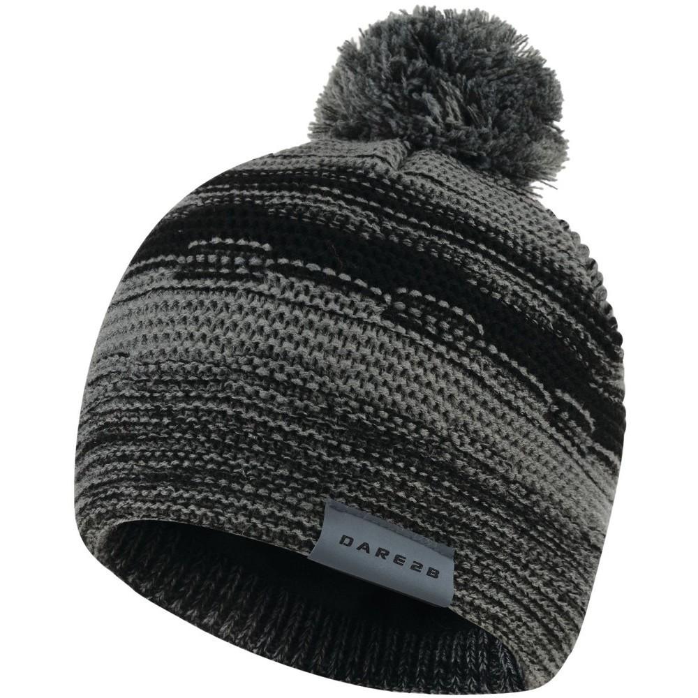 Dare2b Kids Streetwise Soft Knit Fleece Lined Beanie Grey
