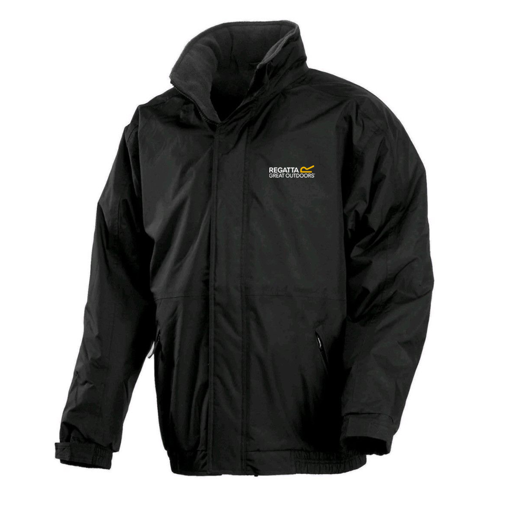Regatta-Dover-amp-Bomber-Mens-Fleece-Lined-Windproof-Waterproof-Jacket-RRP-70 thumbnail 5