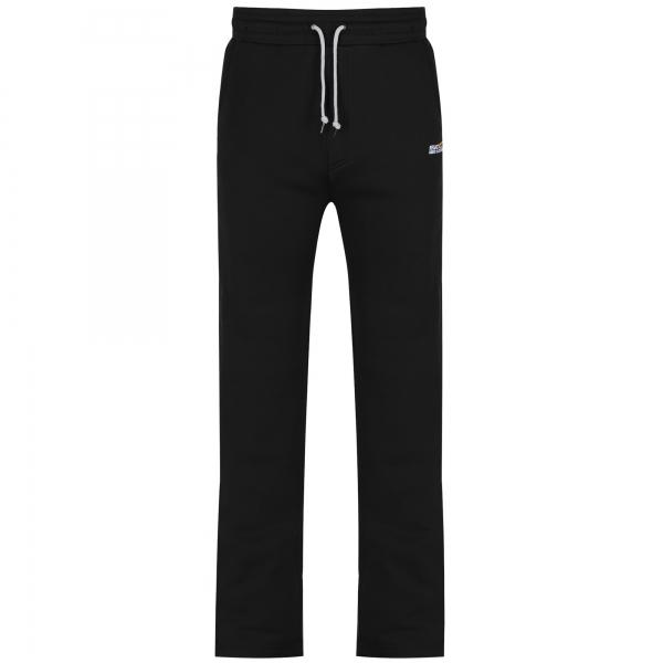 Regatta-Ezra-para-hombre-de-secado-rapido-Ajustable-Cintura-con-Cordon-Pantalones-Deportivos-Negro