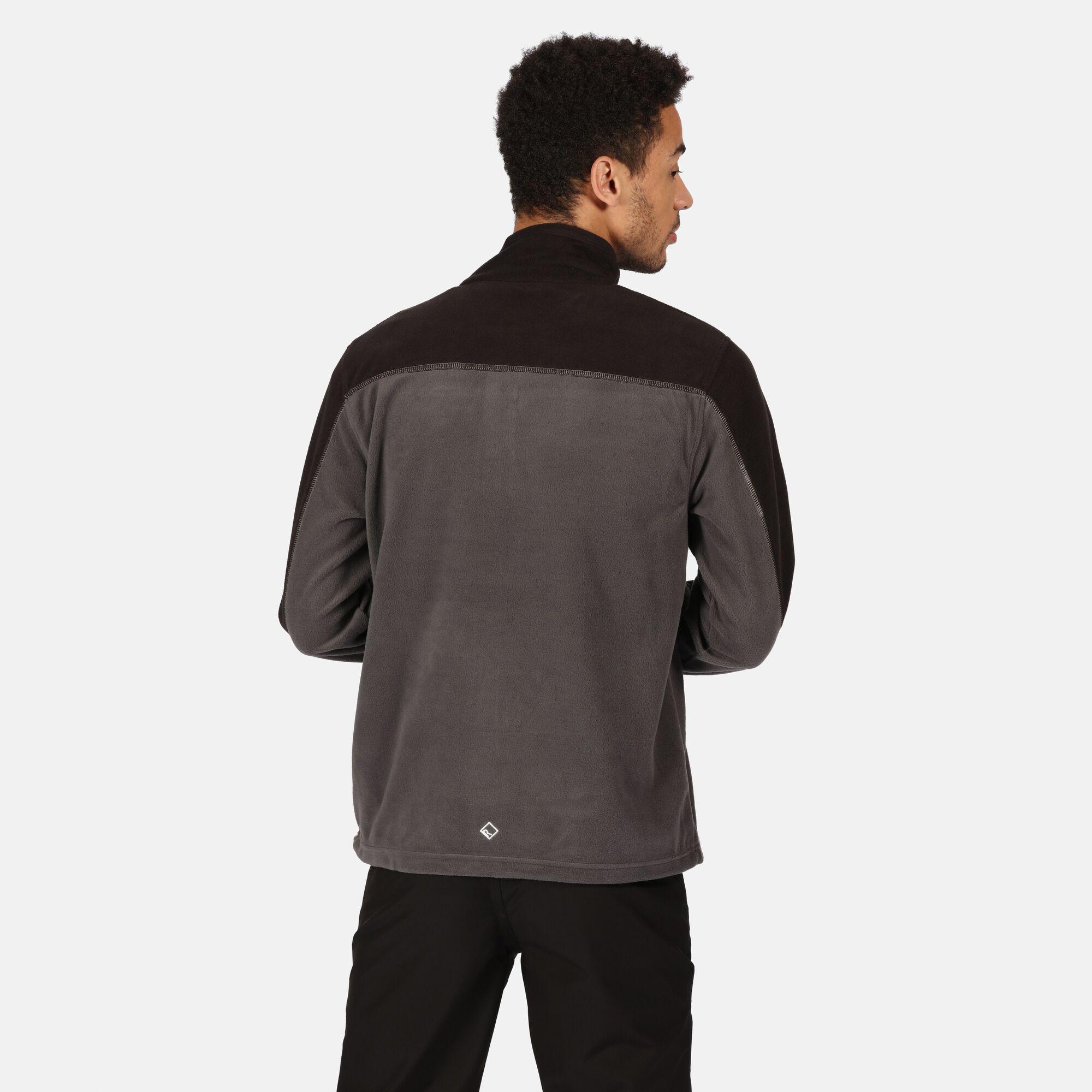 thumbnail 7 - Regatta Fellard Mens Lightweight Full Zip Warm Walking Fleece Jacket RRP £30