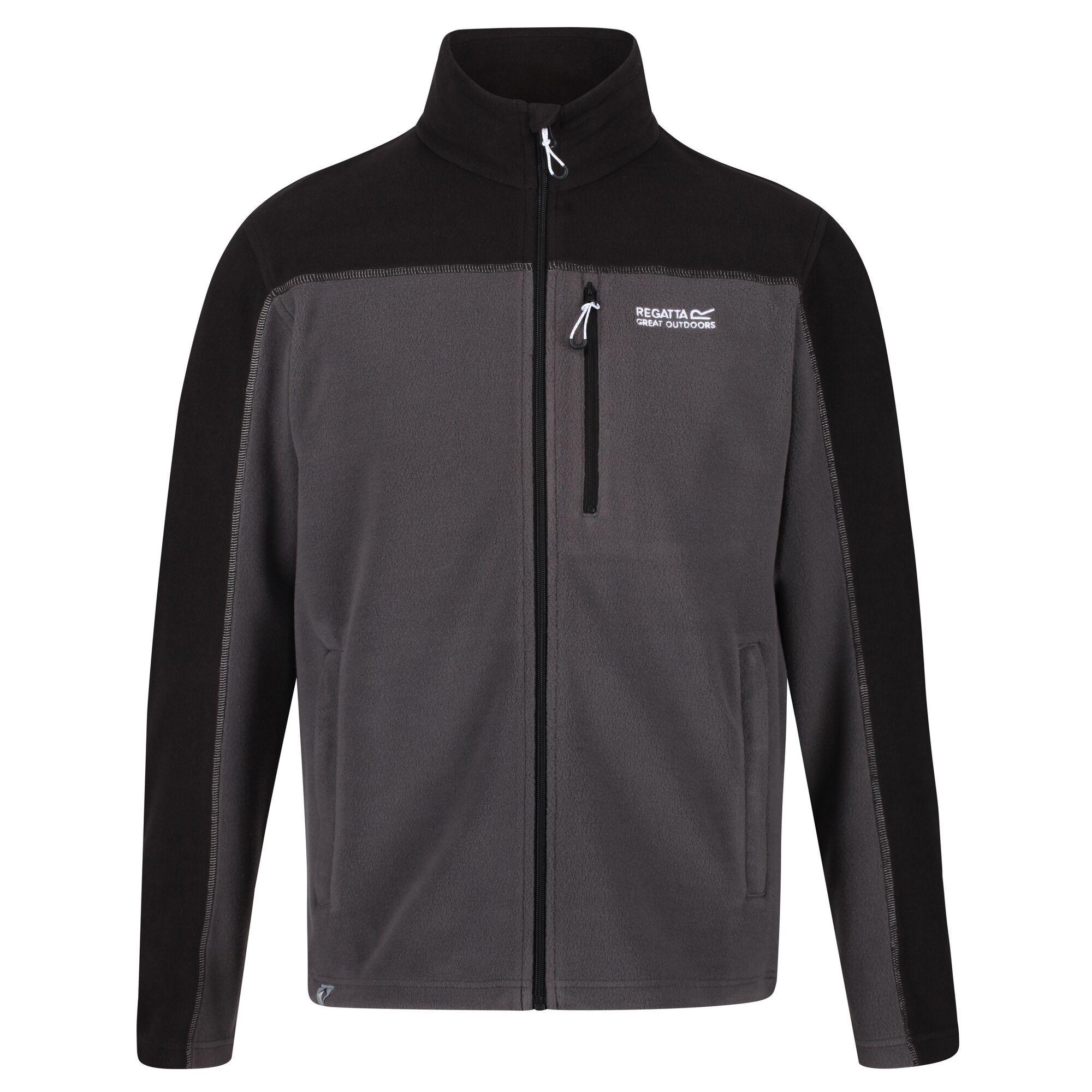 thumbnail 8 - Regatta Fellard Mens Lightweight Full Zip Warm Walking Fleece Jacket RRP £30