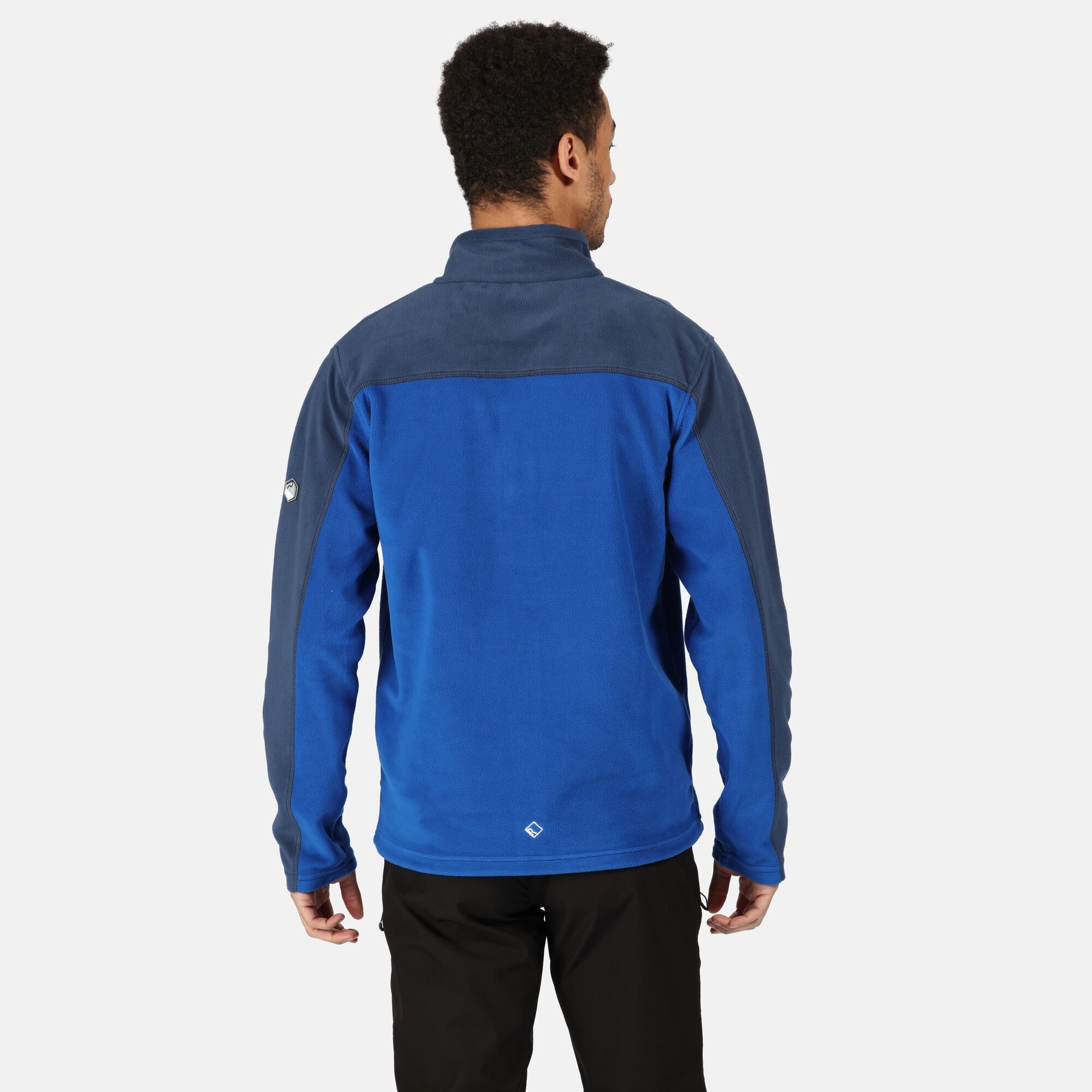 thumbnail 3 - Regatta Fellard Mens Lightweight Full Zip Warm Walking Fleece Jacket RRP £30