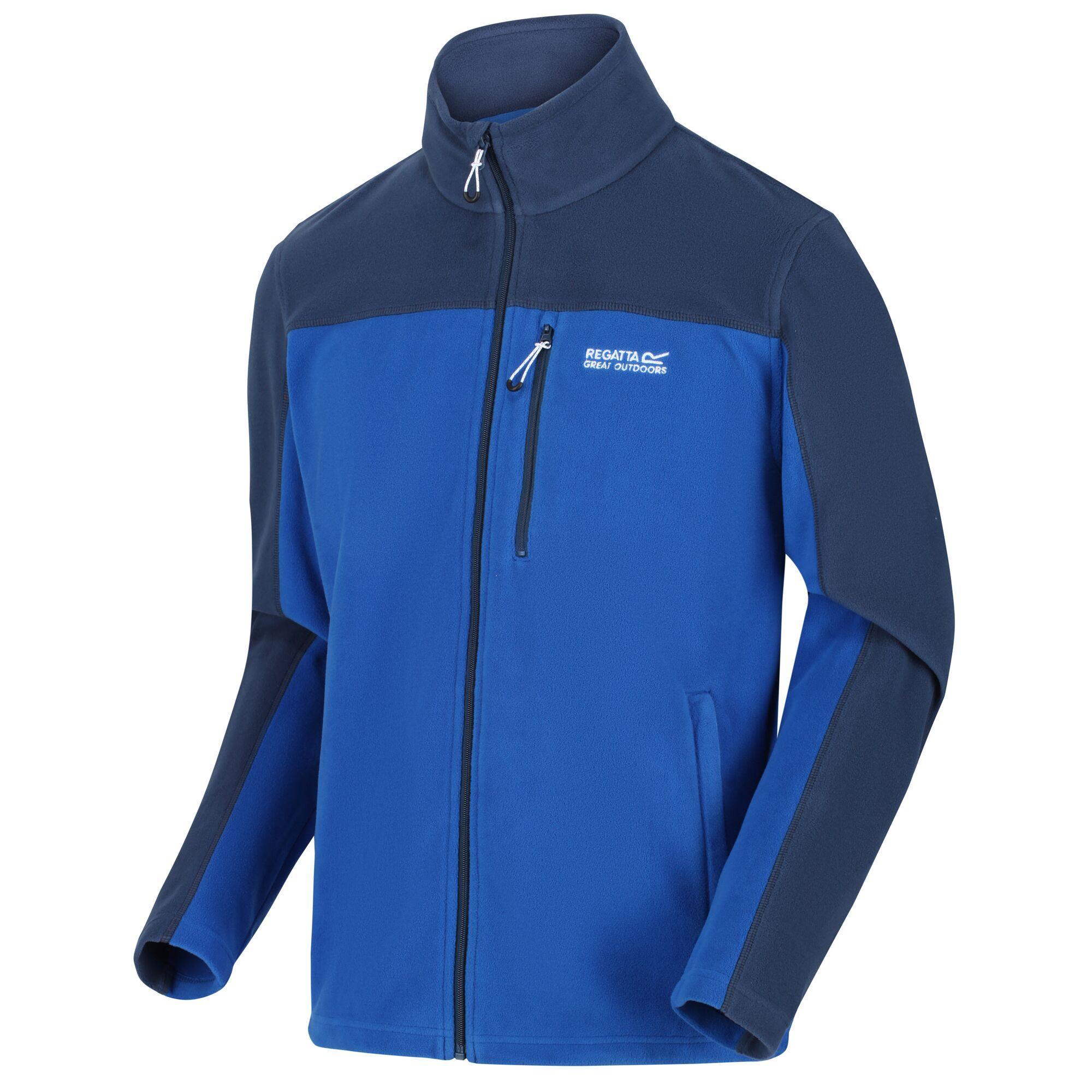 thumbnail 4 - Regatta Fellard Mens Lightweight Full Zip Warm Walking Fleece Jacket RRP £30