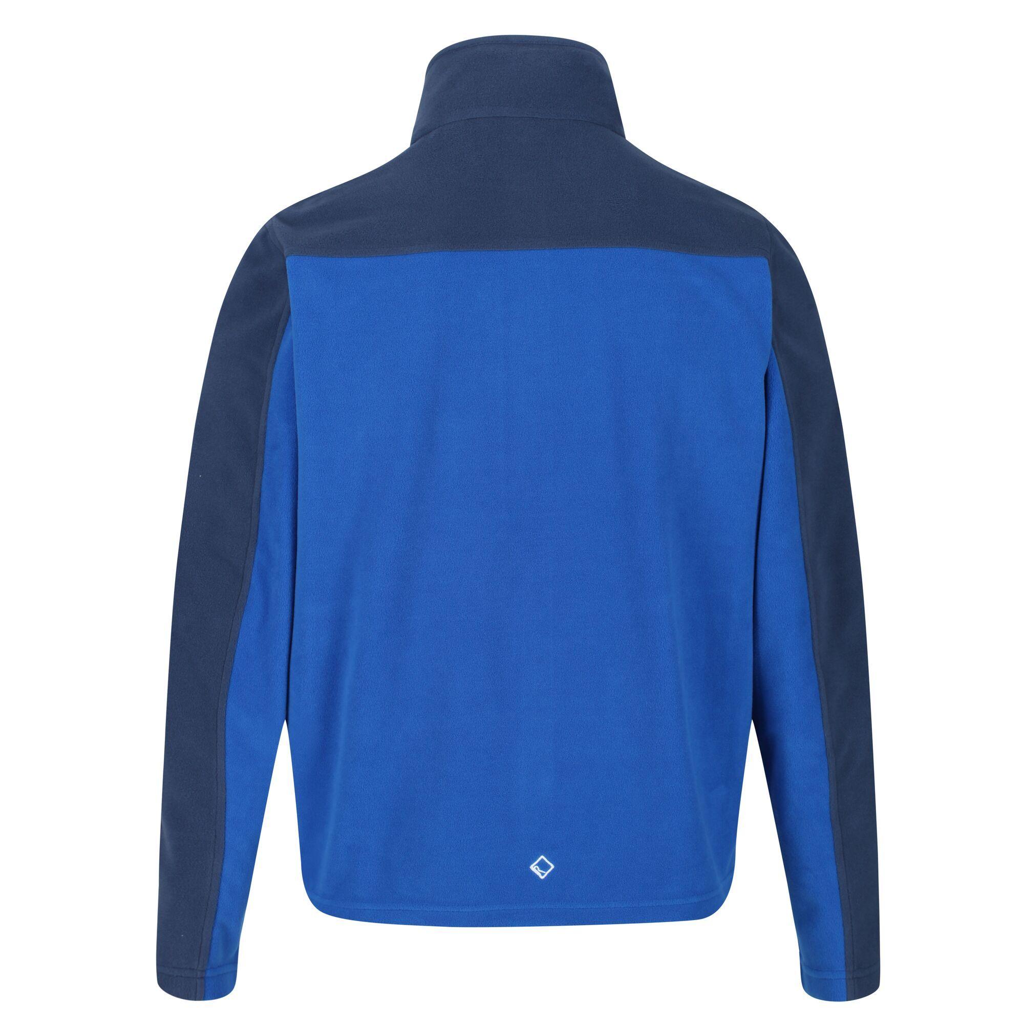 thumbnail 5 - Regatta Fellard Mens Lightweight Full Zip Warm Walking Fleece Jacket RRP £30