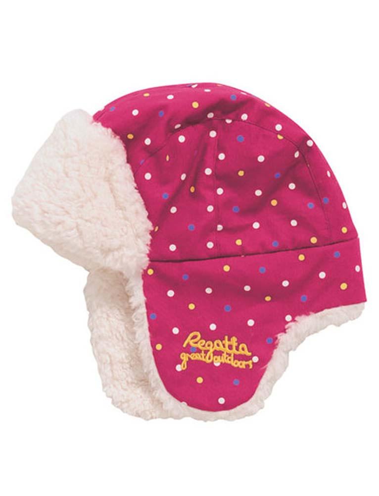 Regatta-Dare2b-Kids-Pom-Pom-Drop-Ear-Warm-Winter-Thermal-Ski-Hats-Clearance