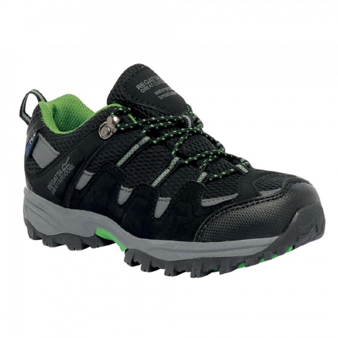 Regatta-Garsdale-Baja-Ninos-Resistente-al-Agua-Transpirable-Caminar-Zapato