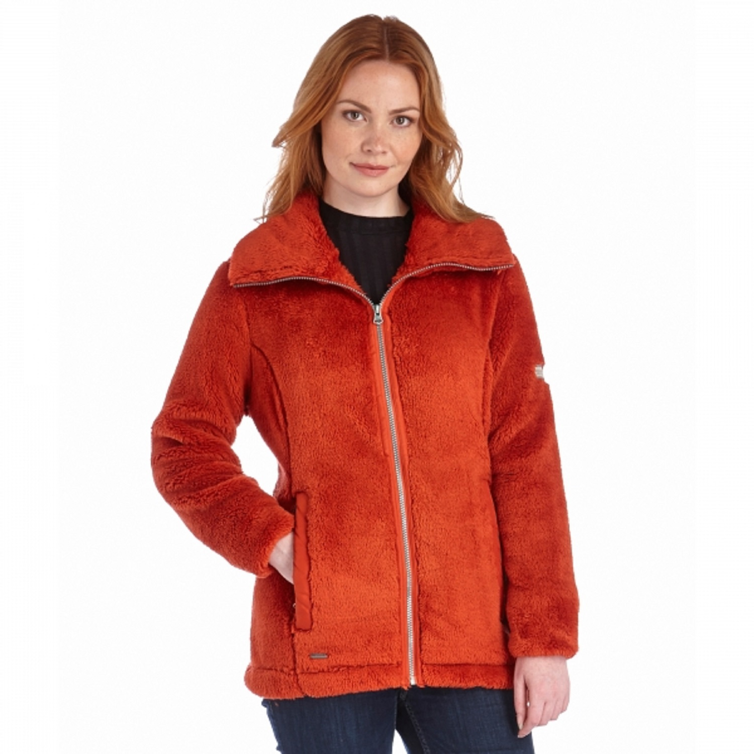 Ladies Fluffy Fleece Jacket | Jackets Review
