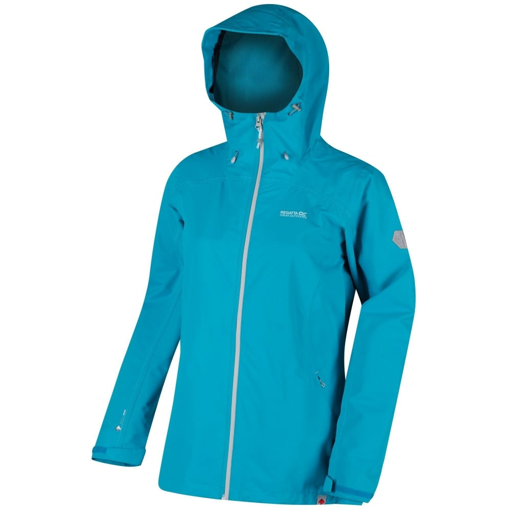 Regatta-Women-039-s-Hamara-II-Lightweight-Breathable-lined-Waterproof-Jacket-RRP-80 thumbnail 3