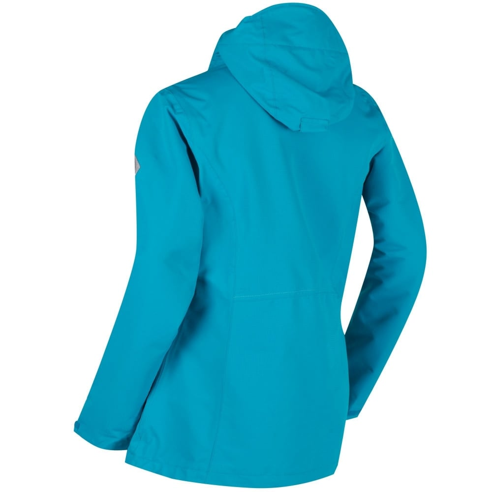 Regatta-Women-039-s-Hamara-II-Lightweight-Breathable-lined-Waterproof-Jacket-RRP-80 thumbnail 4