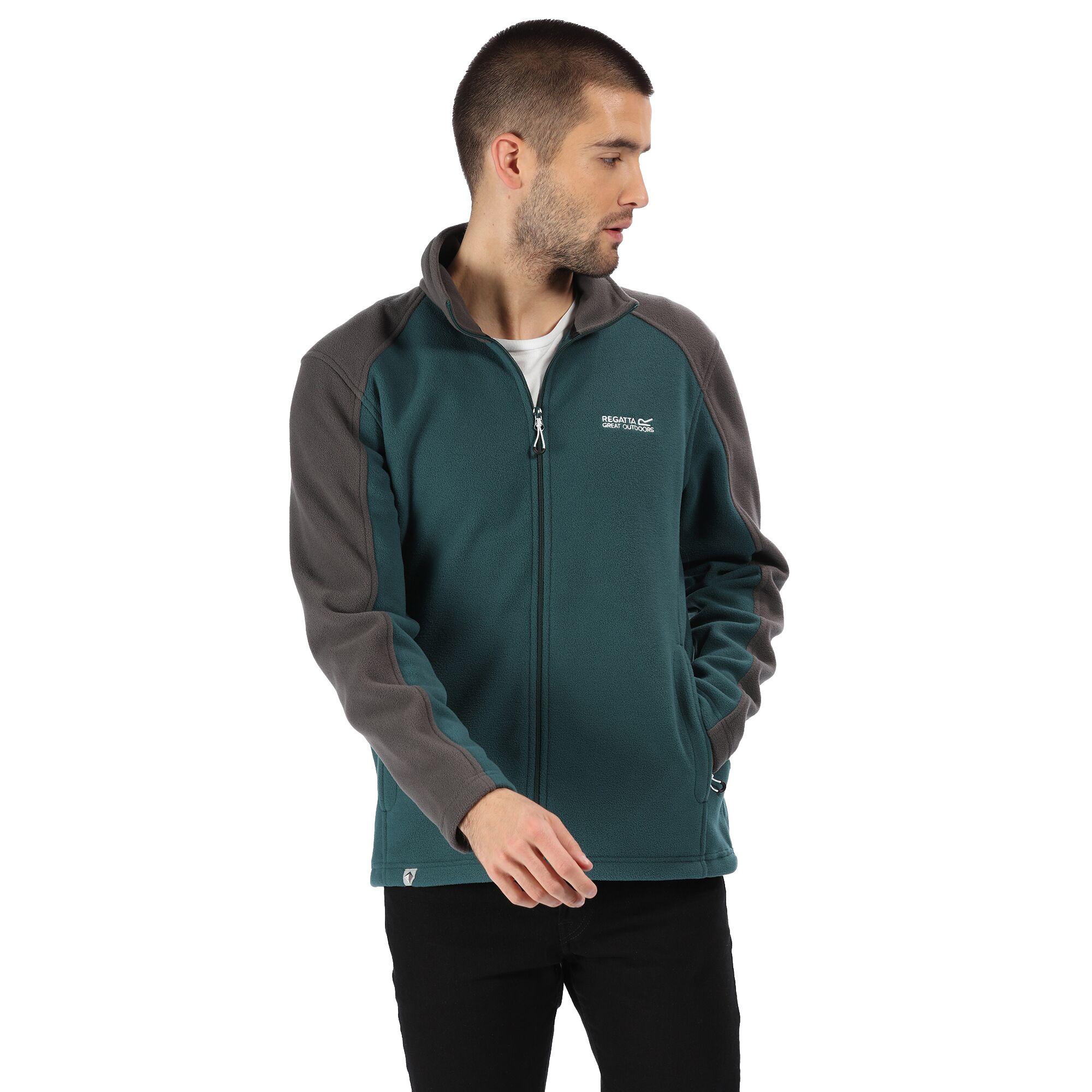 Regatta Hedman Mens Full Zip Mid-Weight Fleece Jacket 3XL
